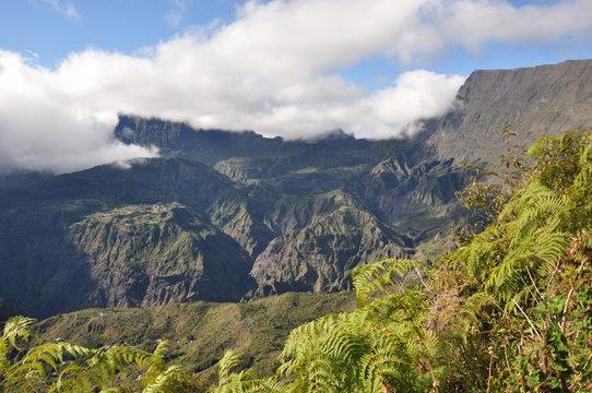Ile de la Réunion - Mafate - Roche Plate - Maïdo