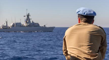 Kapitän und Schlachtschiff