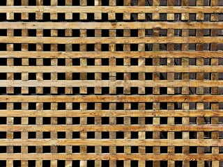 wooden lattice wall background texture