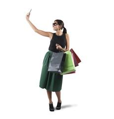 Selfie shopping