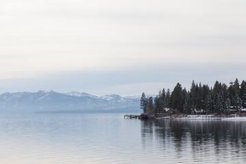 Lake Tahoe in December