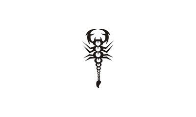 scorpion oriental design