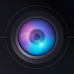 Stylized camera lens v1