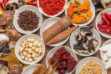 漢方 薬膳 長寿 健康食  Chinese medicine dishes