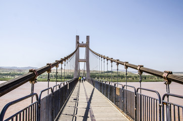 Yellow River Bridge/Yellow River of Ningxia