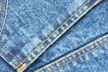 Texture of jeans.
