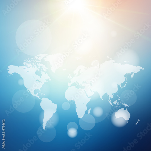 World map abstract bright blur background for web designcolorful world map abstract bright blur background for web designcolorful gumiabroncs Choice Image