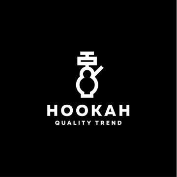 Hookah smoking shisha tobacco brand for your company, a quality logotype