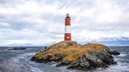 The Les Eclaireurs lighthouse