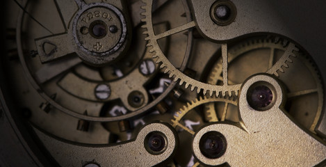 clock mechanism,macro