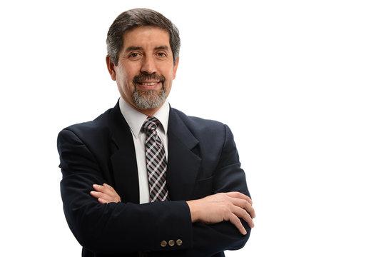 Mature Hispanic Businessman