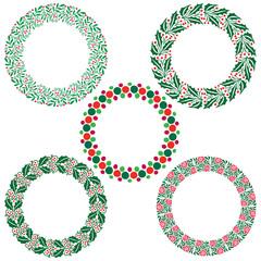 christmas wreath frames