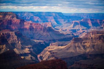famous  view of Grand Canyon , Arizona