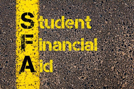 Accounting Business Acronym SFA Student Financial Aid
