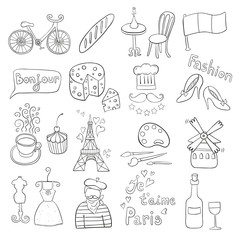 Paris doodles