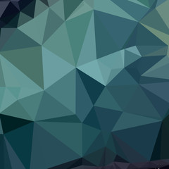 Metallic Seaweed Green Abstract Low Polygon Background