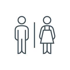 Toilet, genders icon