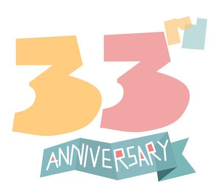 happy 33rd anniversary