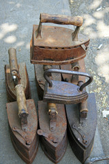 Cast Irons / Old irons on the market in Tbilisi