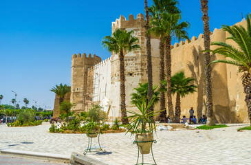 The ramparts of Sfax