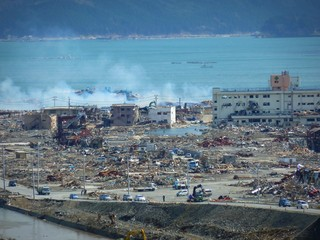 The consequences of the tsunami in Japan