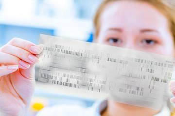 Scientific analyzes of DNA code