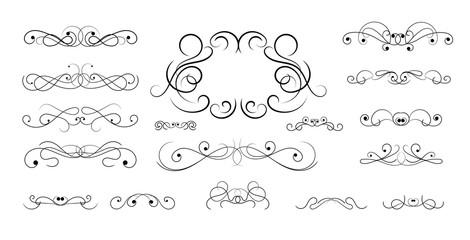 Classic hand drawn element design