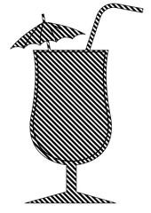 Cocktail pop art