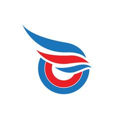 O Wings Logo Template