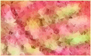 abstract mosaic colorful picture