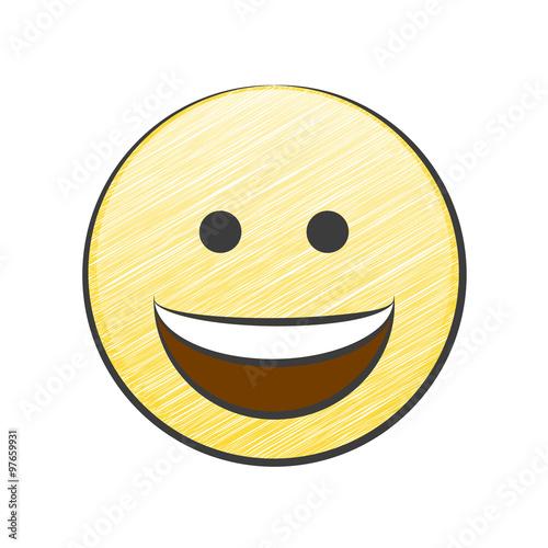 grinsendes gesicht
