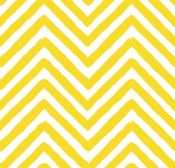 Vector Chevron Yellow Seamless Pattern