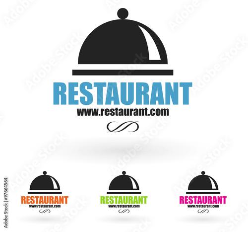 """Célèbre logo restaurant gastronomie"""" fichier vectoriel libre de droits sur  CZ51"""