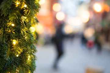 Weihnachten in der Fußgängerzone