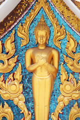 buddha image with thai style texture