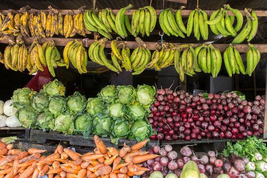 fruit shop from market in Sebaco, Nicaragua