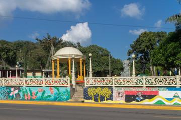 Park of San Ramon, Matagalpa, Nicaragua