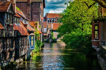 Stores à enrouleur Bruges Bruges Brugge town, Belgium