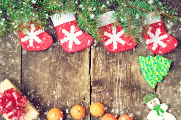Christmas vintage backgrounds