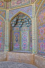 Nasir al-Mulk Mosque decoration vertical