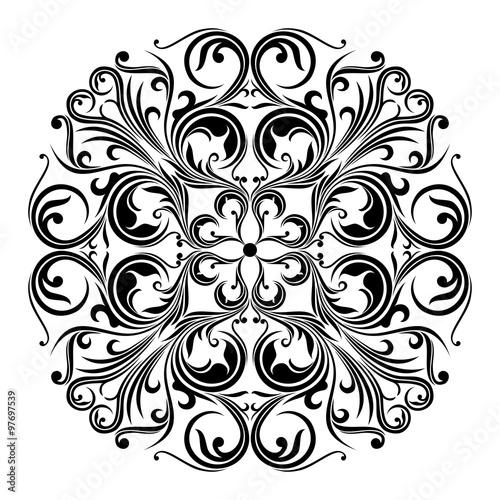 """""""Batik Traditional Circle"""" Stock Image And Royalty-free"""