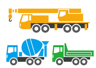 大型工事車両