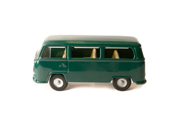 Vintage van toy car