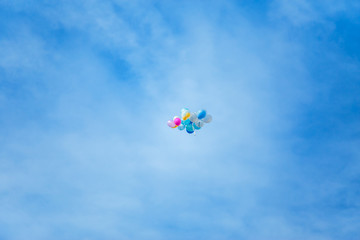 Alone Flying Balloon.