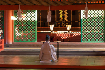 厳島神社 神職