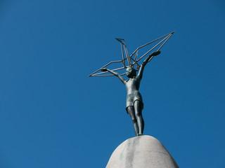 「原爆の子」の像