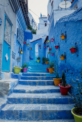 Chefchaouen - Blue village in Morocco