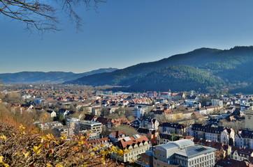Aussicht auf Freiburg