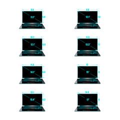 Set of the sizes of a matrix