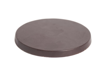 Round chocolate bar
